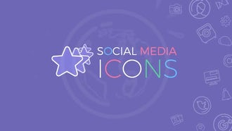 Social Media Icons: Motion Graphics