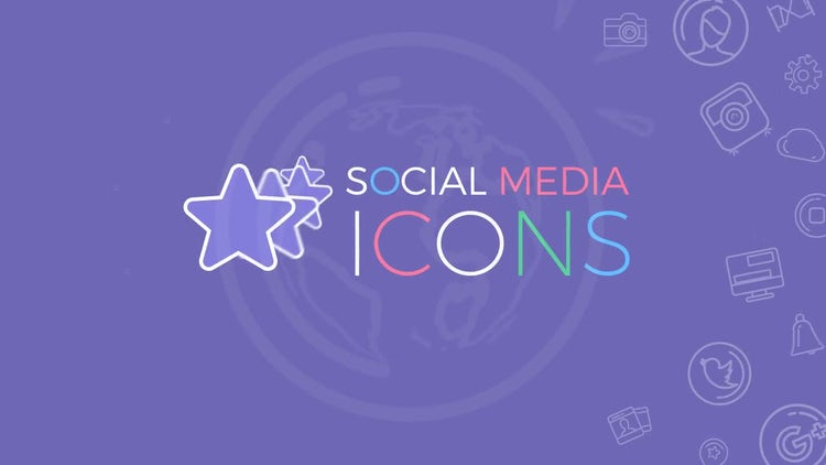 Social Media Icons: Motion Graphics