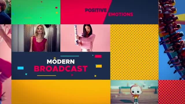 Broadcast Slideshow: After Effects Templates