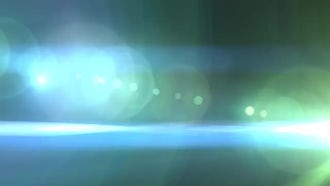 Green and Blue Flare Transition: Motion Graphics
