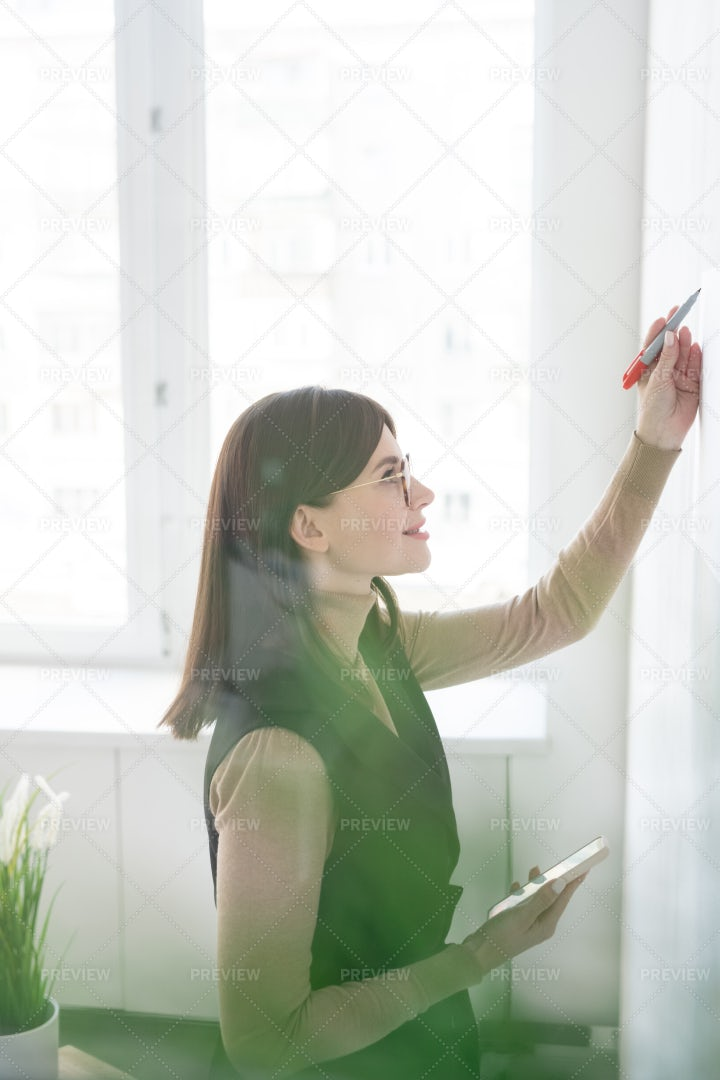 Young Successful Businesswoman With...: Stock Photos