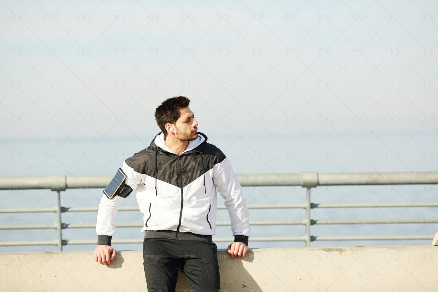 Man In Sportswear: Stock Photos
