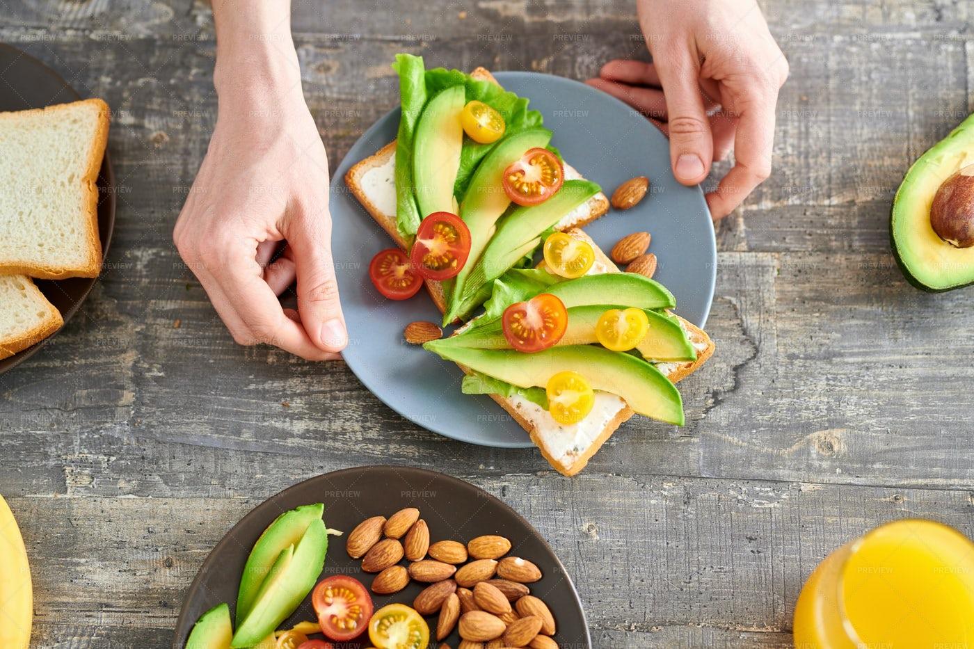Healthy Sandwiches: Stock Photos