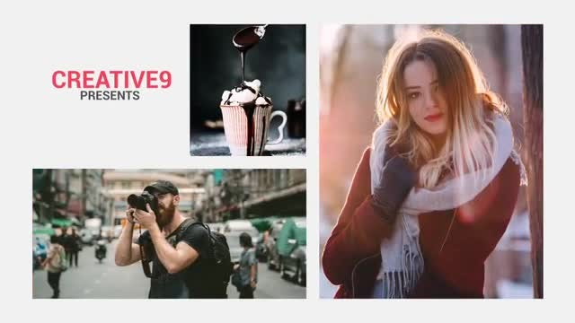Simple Clean Slideshow: After Effects Templates