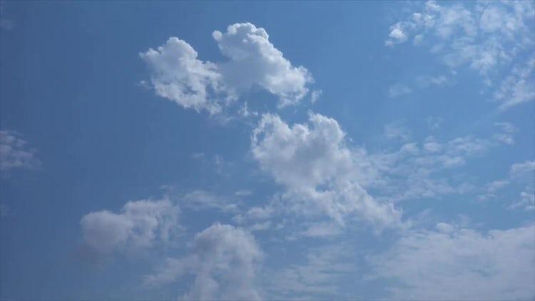 Sky Time Lapse: Stock Video