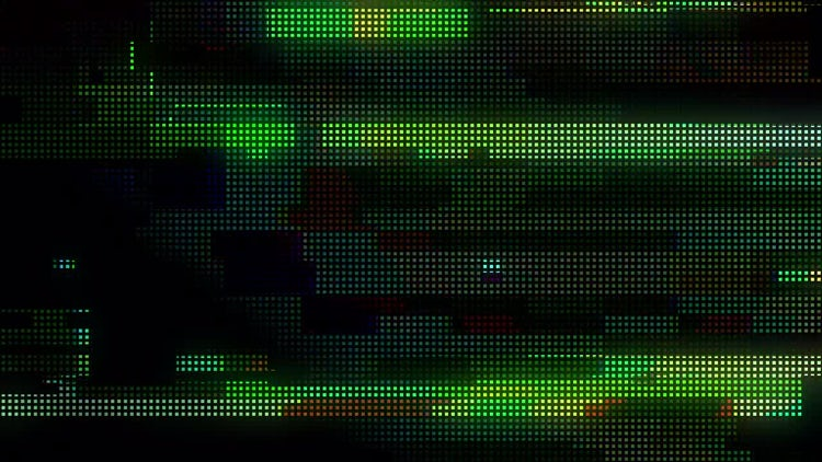 Total Glitch Transitions: Stock Motion Graphics