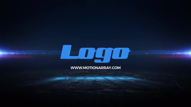 Geometric Light Logo: After Effects Templates