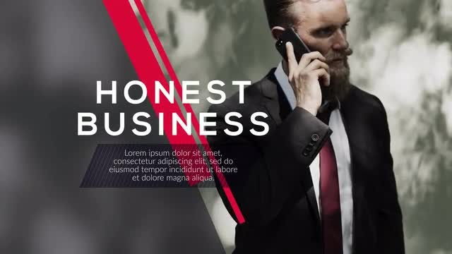 Edge Promo - Minimal Corporate: After Effects Templates