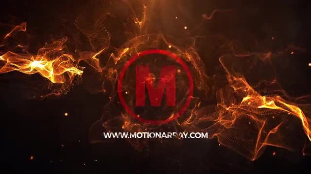 Energy Fire Logo: After Effects Templates
