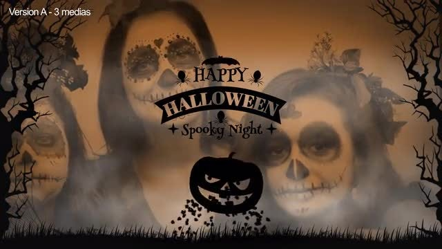 Halloween Slideshows: After Effects Templates