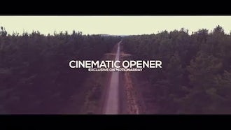 Cinematic Opener: Premiere Pro Templates