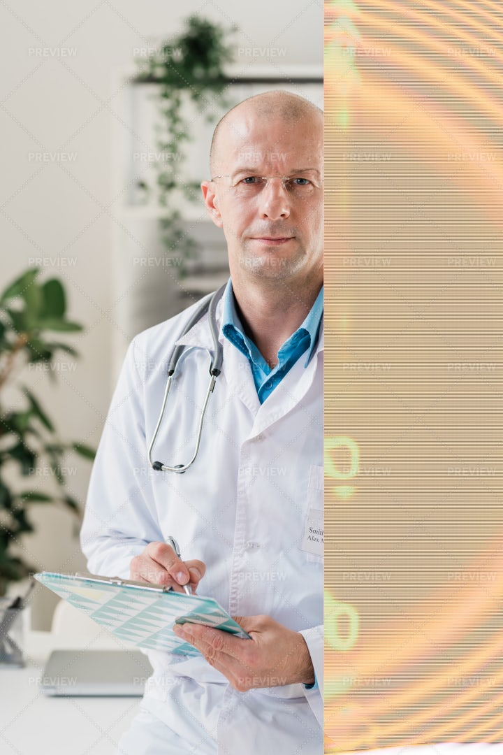 Contemporary Practitioner In...: Stock Photos