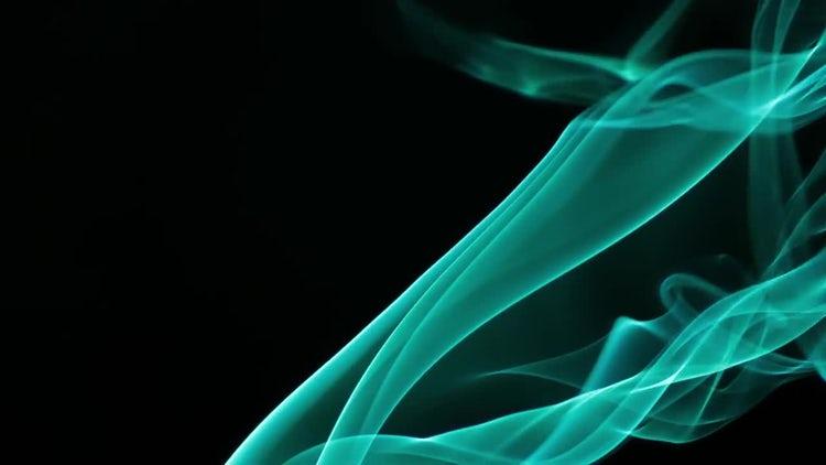 Aqua Velvet Smoke: Stock Video