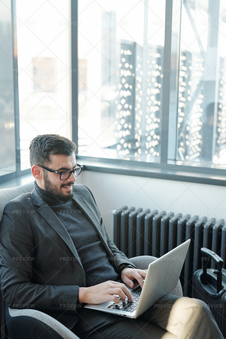 Young Successful Businessman In...: Stock Photos