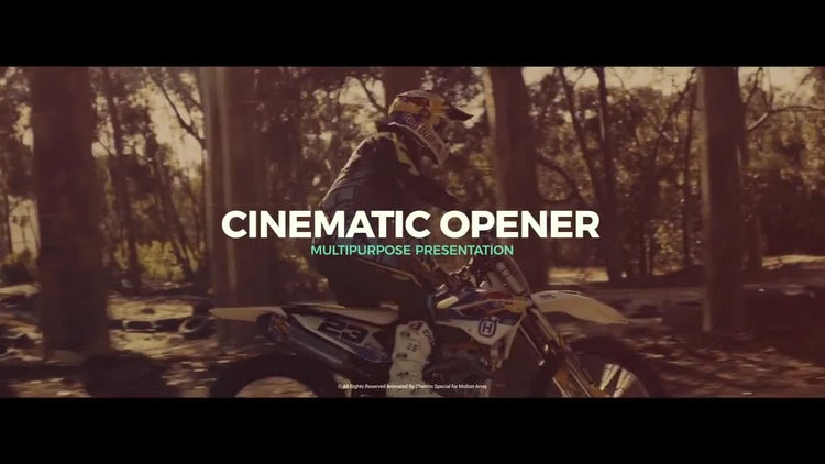 Cinematic Opener v.2: After Effects Templates