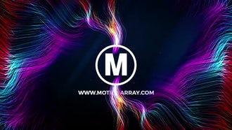 Colorful Particle Logo: Premiere Pro Templates