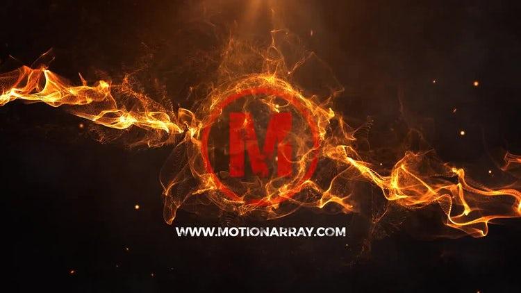 Energy Fire Logo: Premiere Pro Templates