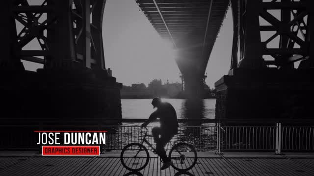 Title Lower Thirds: After Effects Templates