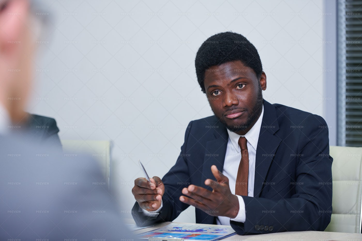 Young African Economist In...: Stock Photos