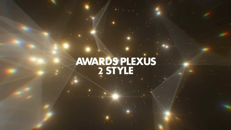 Awards Plexus Pack 01: Stock Motion Graphics