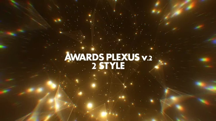 Awards Plexus Pack 02: Stock Motion Graphics