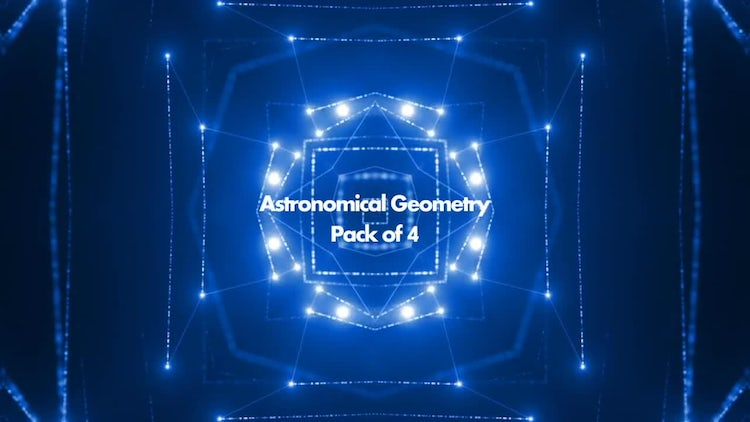 Astronomical Geometry Pack: Motion Graphics