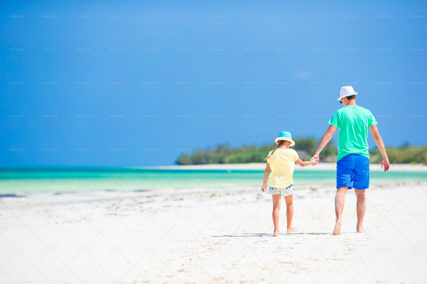 Holding Hands On Holiday: Stock Photos