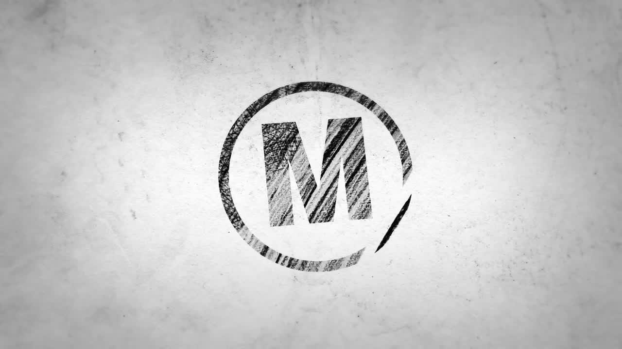 Pencil draw logo reveal after effects templates motion array