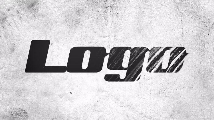 Pencil Draw Logo Reveal: Premiere Pro Templates