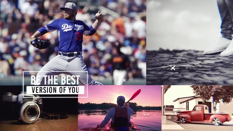 Cinematic Urban Style Slideshow: After Effects Templates