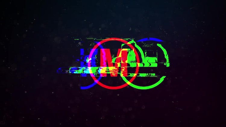 Fast Glitch Logo: After Effects Templates