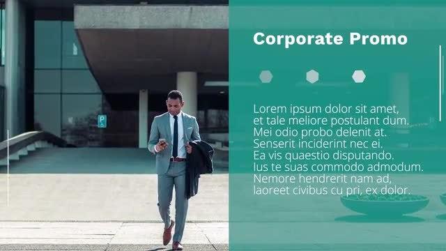 Polygonal Corporate Slideshow: Premiere Pro Templates