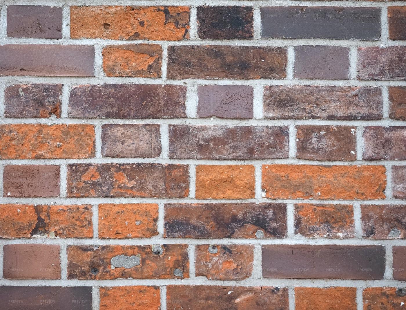 A Dull Brick Wall: Stock Photos