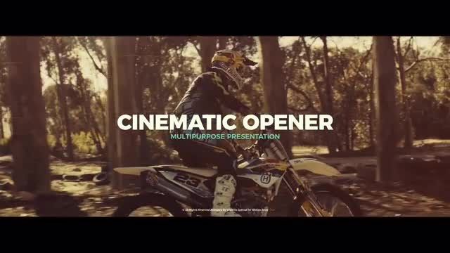 Cinematic Opener v.2: Premiere Pro Templates