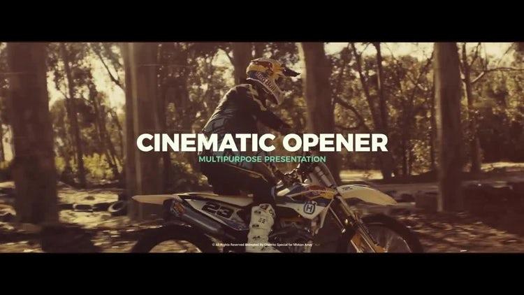 Cinematic Opener v.2: Premiere Pro Templates
