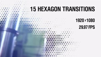 Hexagon Transitions Vol.1: Motion Graphics