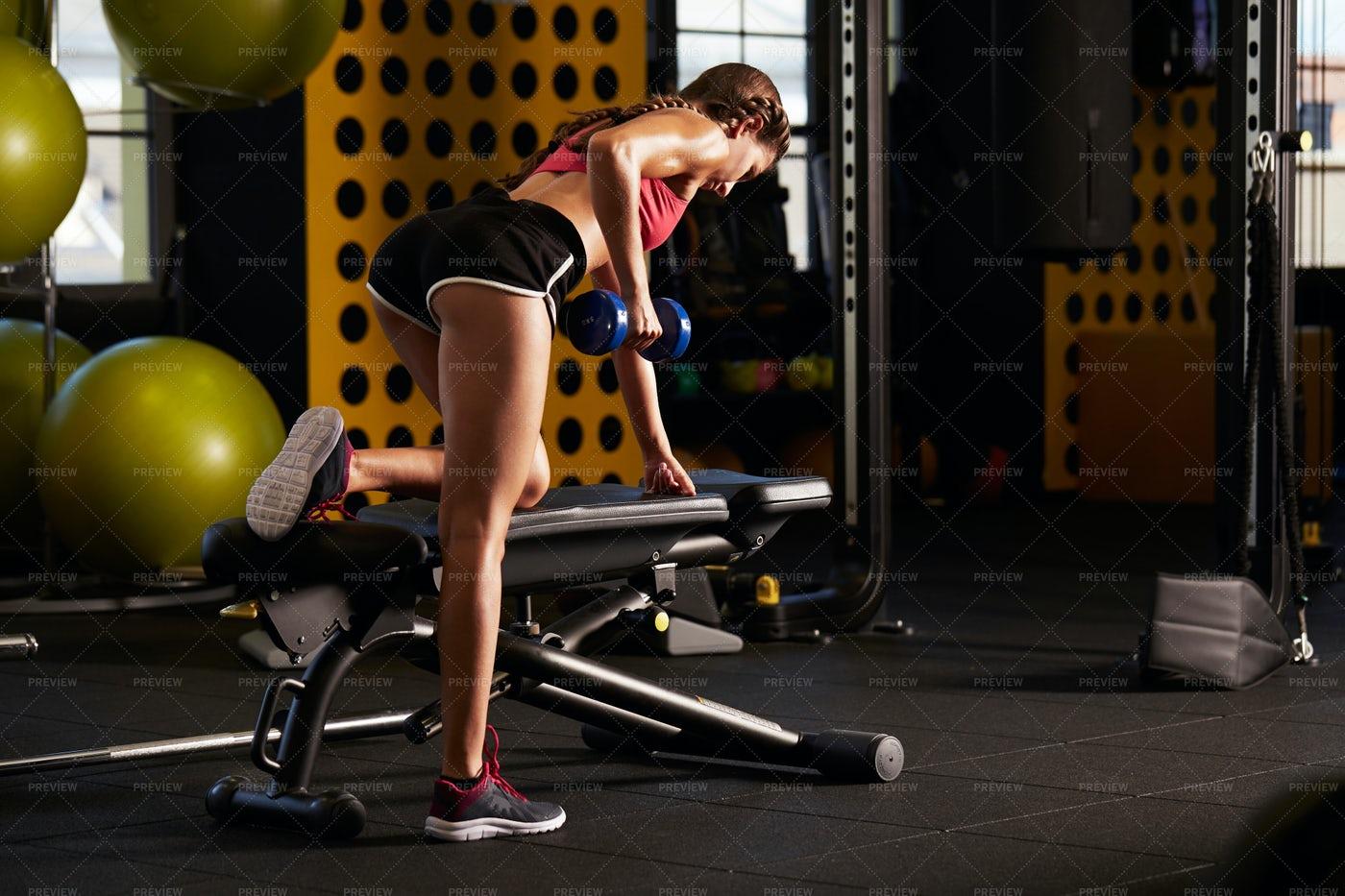 Gym Workout: Stock Photos