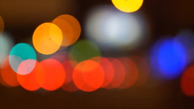 Bokeh: Stock Video