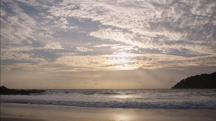 Sea Sunset: Stock Video