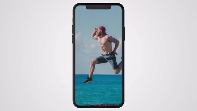 Phone X Transitions: Stock Motion Graphics