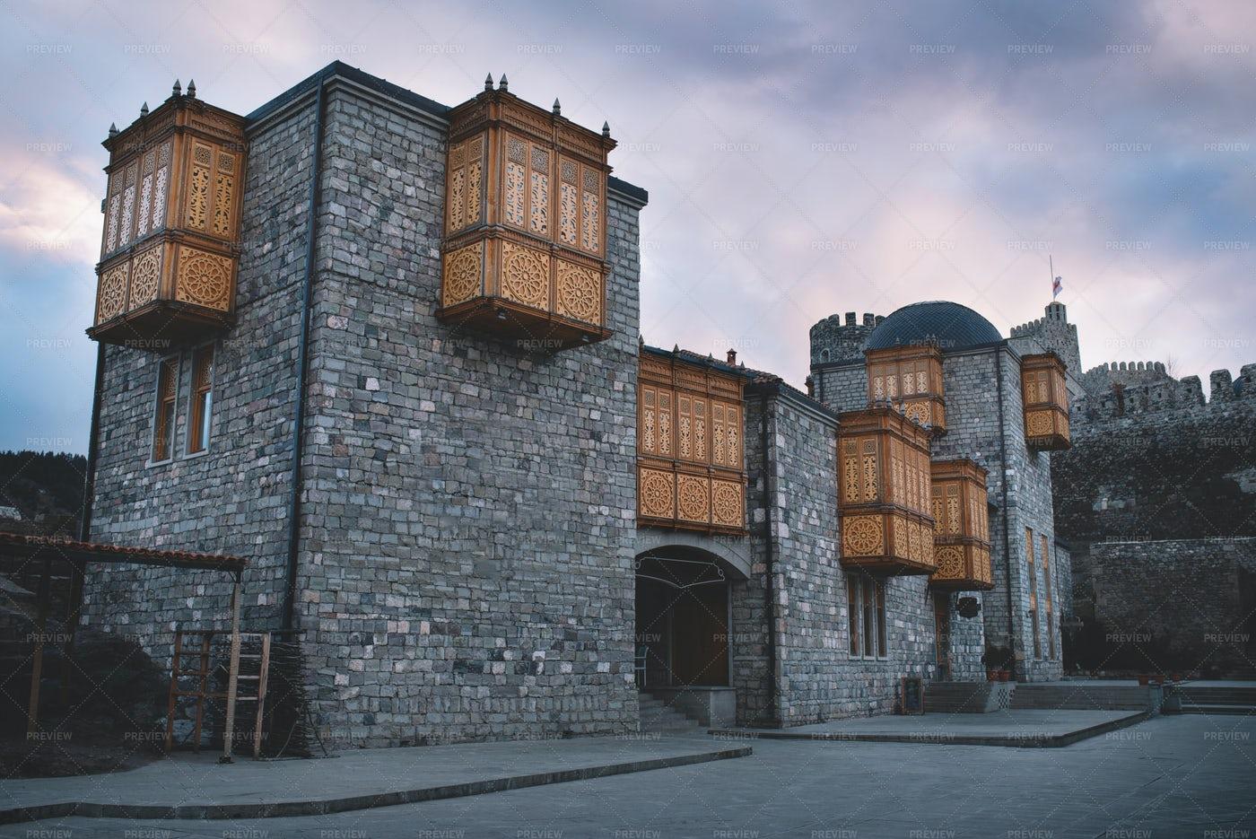 Old Stone Castle: Stock Photos
