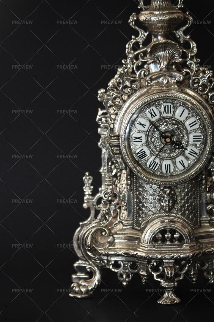 An Old Clock: Stock Photos