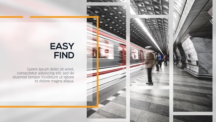 Corporate Lines - Presentation: After Effects Templates