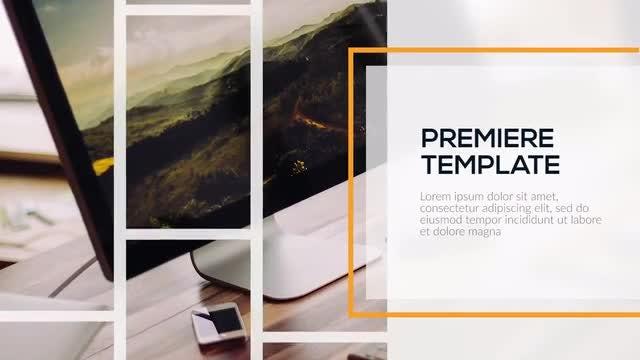 Corporate Lines - Premiere Presentation: Premiere Pro Templates