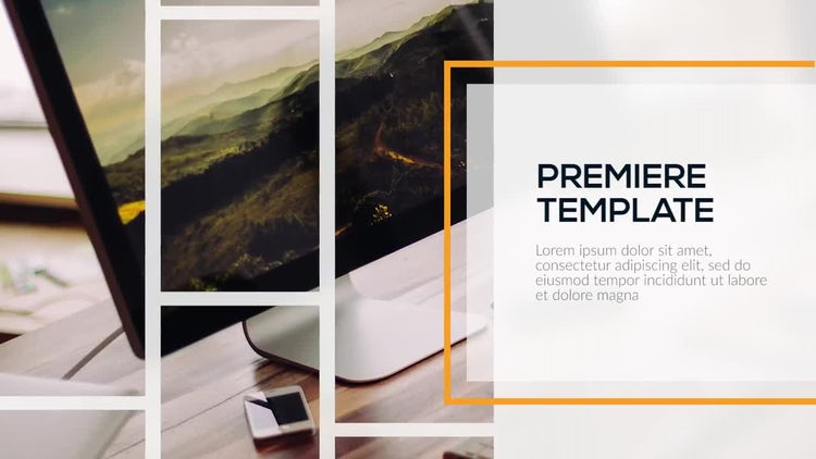 Corporate Lines - Premiere Presentation: Premiere Pro Templates