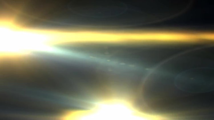 Yellow Flare Transition: Motion Graphics