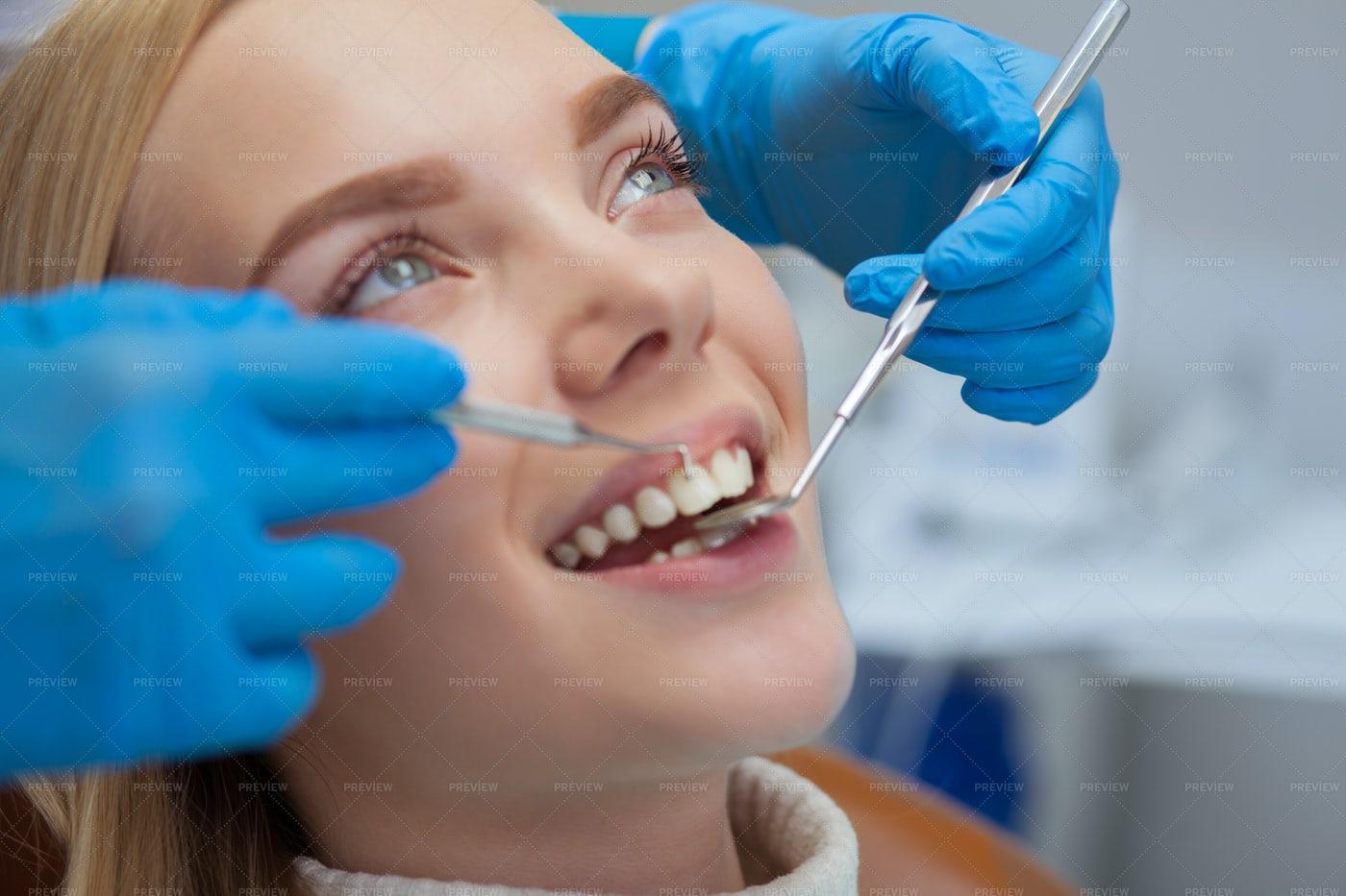 A Dental Checkup: Stock Photos
