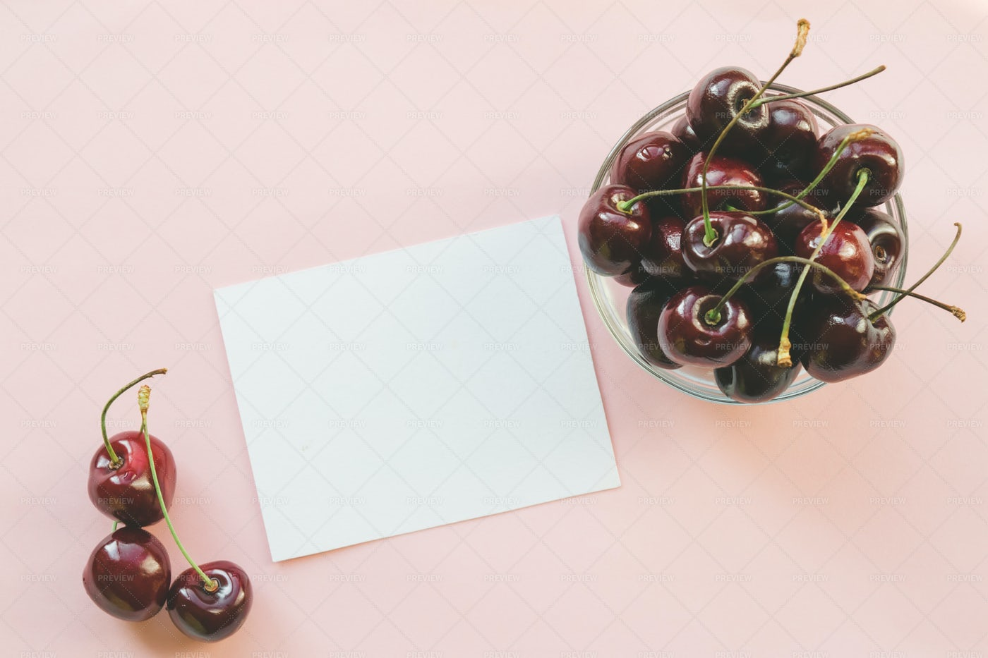Cherries For Snacking: Stock Photos