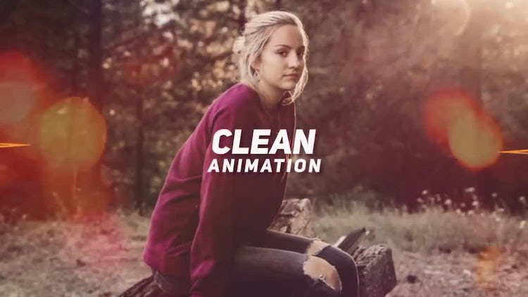Simple and Elegant Slideshow: After Effects Templates