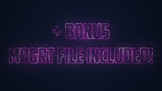 Hologram Logo: After Effects Templates